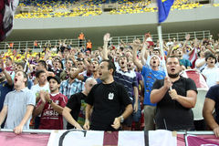 FC Rapid Bucharest - FC Heerenveen Stock Photo