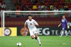 FC Rapid Bucharest - FC Heerenveen Royalty Free Stock Images