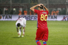 FC Rapid Bucharest- FC Steaua Bucharest Stock Images
