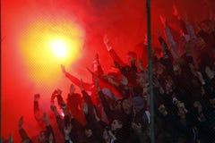 FC Rapid Bucharest- FC Steaua Bucharest Royalty Free Stock Photography