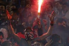 FC Rapid Bucharest- FC Steaua Bucharest Stock Photo
