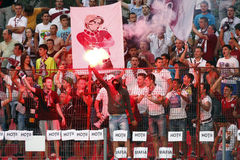 FC Rapid- Concordia Chiajna Royalty Free Stock Photos