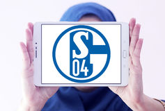 FC Schalke 04足球俱乐部商标 库存图片