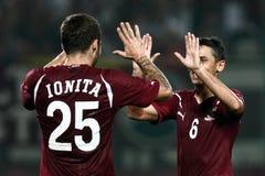FC schnelles Bucharest - FC Constanta Stockfotografie