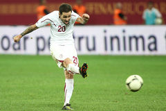 FC schnelles Bucharest - FC Heerenveen Lizenzfreie Stockfotografie