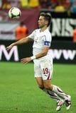 FC schnelles Bucharest - FC Heerenveen Lizenzfreies Stockfoto
