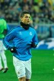 FC Shakhtar对FC皇马 库存图片