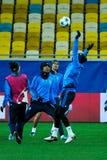 FC Shakhtar对FC皇马 免版税图库摄影