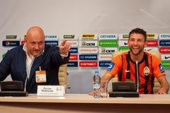 FC Shakhtar Donetsk defender Razvan Rats Stock Image