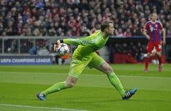 FC Shakhtar Donetsk för FC Bayern Muenchen V - liga för UEFA-mästare Royaltyfria Foton