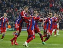 FC Shakhtar Donetsk för FC Bayern Muenchen V - liga för UEFA-mästare Arkivbild