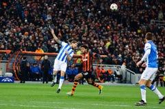 FC Shakhtar Donetsk-Mittelfeldspieler Adriano Stockfotos