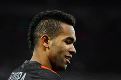 FC Shakhtar Donetsk player Alex Teixeira Stock Photo