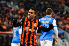 FC Shakhtar Donetsk player Alex Teixeira Royalty Free Stock Photography