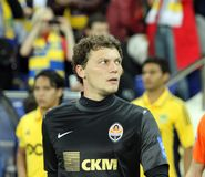 FC Shakhtar Donetsk players Royalty Free Stock Photography
