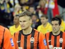 FC Shakhtar Donetsk players Stock Image
