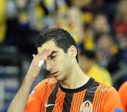 FC Shakhtar Donetsk players Royalty Free Stock Photos