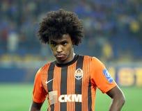 FC Shakhtar Donetsk players Stock Images