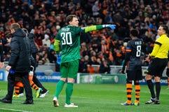 FC Shakhtar Donetsk-Torhüter Andriy Pyatov Stockfoto