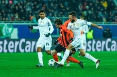 FC Shakhtar vs FC Real Madrid Royalty Free Stock Photography