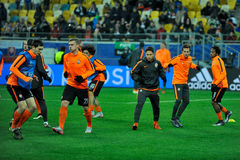 FC Shakhtar vs FC Real Madrid Royalty Free Stock Image