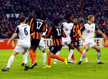 FC Shakhtar vs. Fuham FC Royalty Free Stock Photography