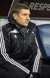 FC Sheriff Tiraspol coach Andrei Sosnitski Stock Images