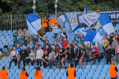 FC Stal contre FC Dinamo Photo libre de droits