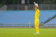 FC Stal contre FC Dinamo Photos libres de droits