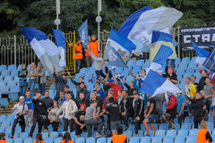 FC Stal contre FC Dinamo Images libres de droits