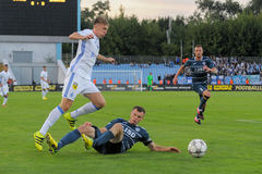 FC Stal εναντίον FC Dinamo Στοκ φωτογραφία με δικαίωμα ελεύθερης χρήσης