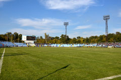 FC Stal and FC Dnipro Stock Photos
