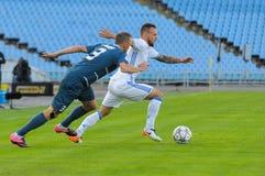 FC Stal versus FC Dinamo Royalty-vrije Stock Afbeeldingen