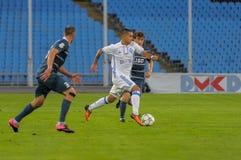 FC Stal versus FC Dinamo Royalty-vrije Stock Fotografie