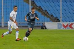FC Stal vs FC Dinamo Obrazy Royalty Free