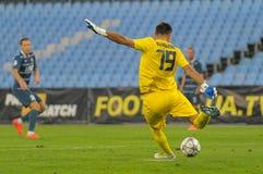 FC Stal vs FC Dinamo Royalty Free Stock Image