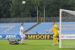FC Stal vs FC Dinamo Royalty Free Stock Photography
