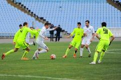 FC Stal vs FC Olimpik Stock Image