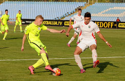 FC Stal vs Gornyk. Ukrainian Cup. Stock Photo