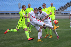 FC Stal vs Gornyk. Ukrainian Cup Royalty Free Stock Photos