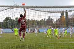 FC Stal vs Gornyk. Ukrainian Cup Stock Photography