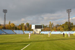 FC Stal vs Gornyk. Ukrainian Cup Stock Photos