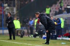 FC Steaua Boekarest - FC Dinamo Boekarest Royalty-vrije Stock Afbeeldingen