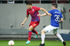 FC Steaua Boekarest - FC Molde Stock Fotografie