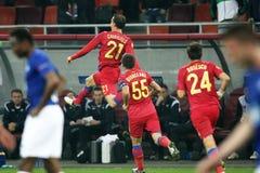 FC Steaua Boekarest - FC Molde Stock Foto's