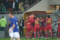FC Steaua Boekarest - FC Molde Stock Foto