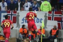 FC Steaua Boekarest - FC Molde Royalty-vrije Stock Foto's