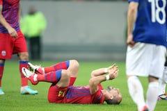 FC Steaua Boekarest - FC Molde Royalty-vrije Stock Afbeelding
