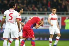 FC Steaua Boekarest - FC Stuttgart Royalty-vrije Stock Fotografie