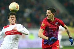 FC Steaua Boekarest - FC Stuttgart Royalty-vrije Stock Afbeelding